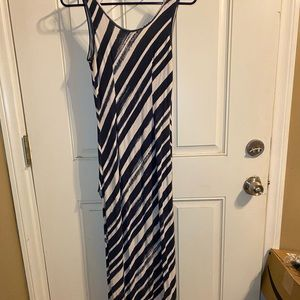 Tommy Bahama maxi dress with a side slit